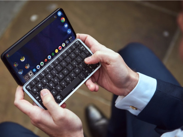 The Astro Slide is a 5G PDA that runs Android 10 and Linux