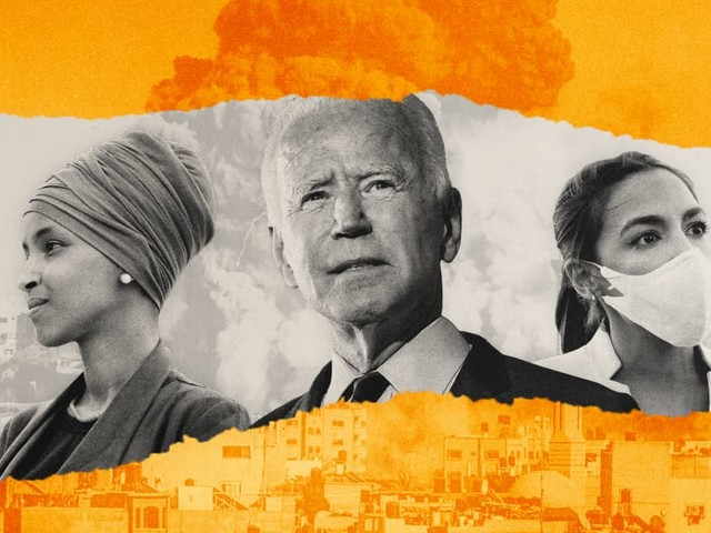 Biden's Israel support follows U.S. precedent — but his own party isn't satisfied