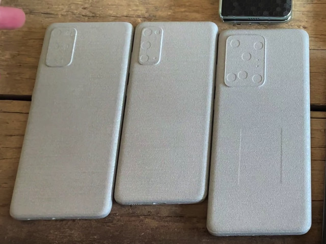 New leak tells us exactly how big the Galaxy S20 phones are