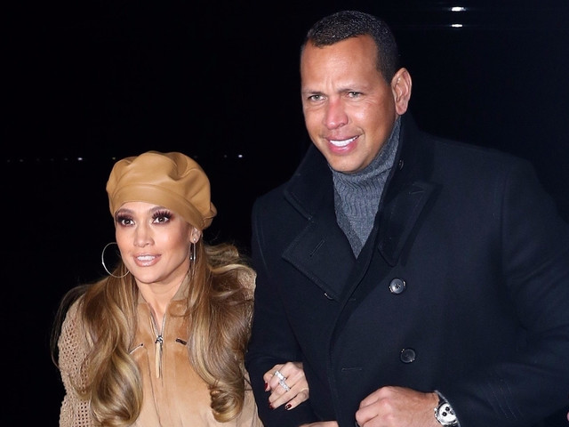 Jennifer Lopez Gets Alex Rodriguez's Support While Promoting 'Second Act' in NYC!