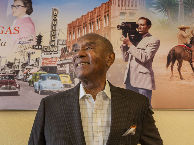 Las Vegas' first African American anchor honored for life's work