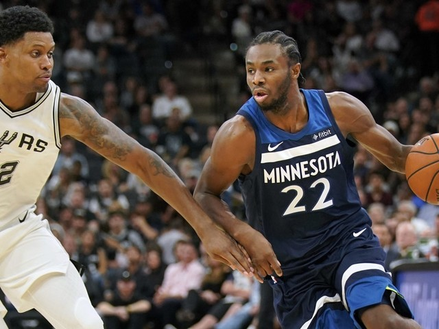 Wolves open season with 107-99 loss to San Antonio