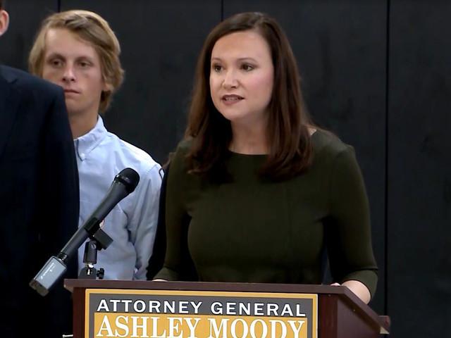 Florida Attorney General Ashley Moody Backs Gov. DeSantis On Former BSO Sheriff's Ouster