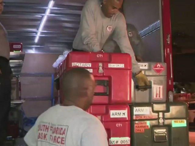 Miami Firefighters Preparing To Help In Puerto Rico And US Virgin Islands