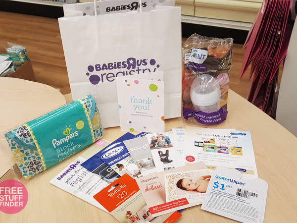 HURRY! FREE Baby Welcome Gift Bag (Rare Samples & Coupons)