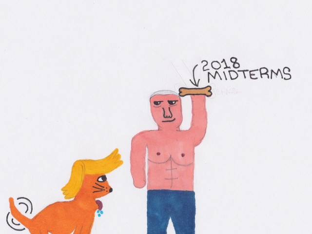 Good boy! By eleven year old cartoonist, Nate