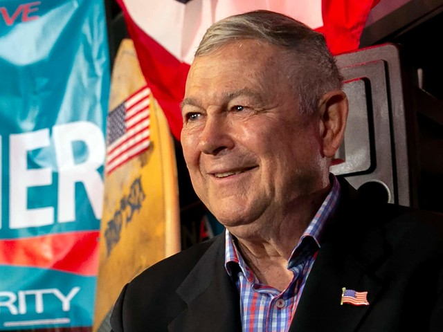Former congressman Dana Rohrabacher says he protested outside the Capitol on Jan. 6