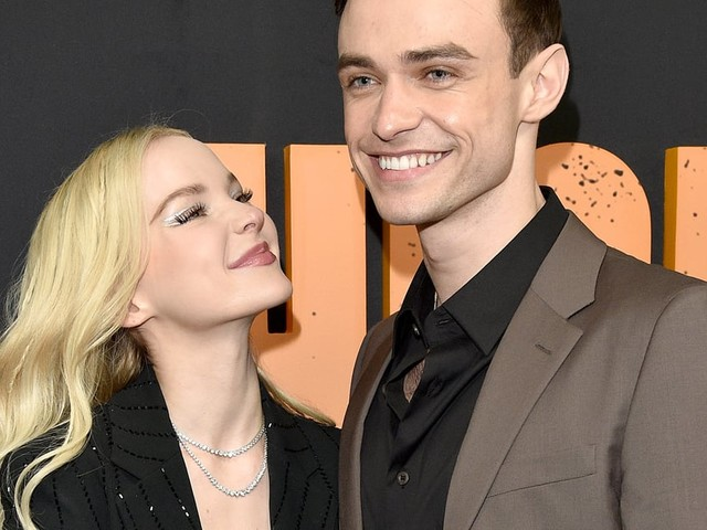 Aw! Dove Cameron Adorably Supports Boyfriend Thomas Doherty at High Fidelity Premiere