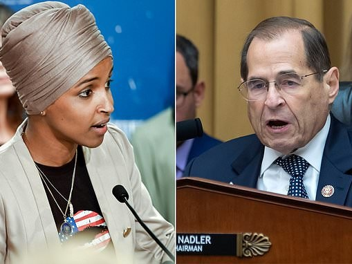Ilhan Omar fires back at Jerry Nadler after the senior Democrat accused her of anti-Semitism