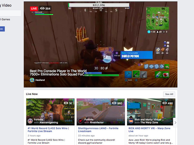 Facebook takes on Twitch with game streaming hub Fb.gg