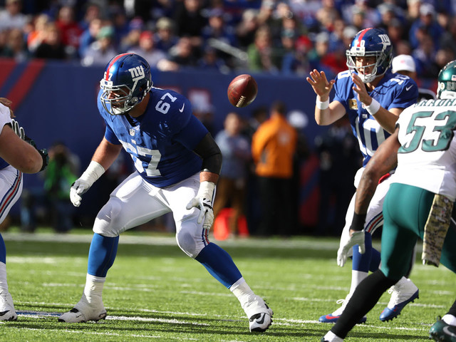 How swimming, MMA training, yoga, and boxing helped Justin Pugh become the Giants' most versatile lineman