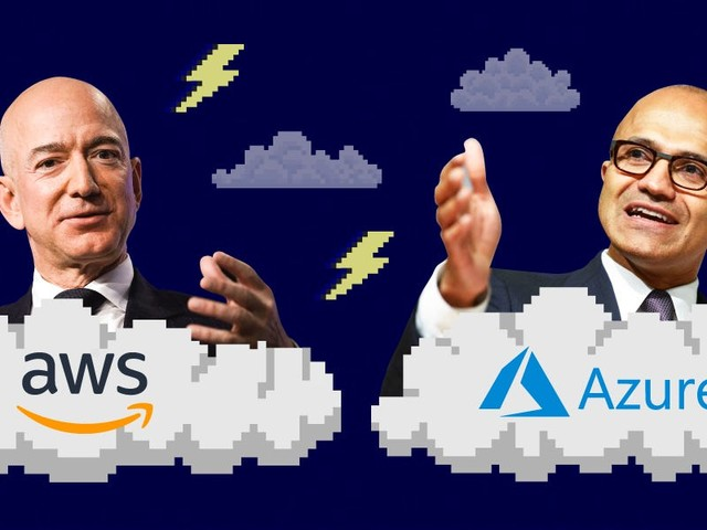 We compared the leadership philosophies of Amazon CEO Jeff Bezos and Microsoft CEO Satya Nadella and it shows the major differences between the two companies (MSFT, AMZN)