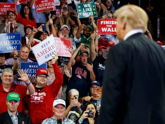 'Takes all of the oxygen out': Trump further divides political map for 2020
