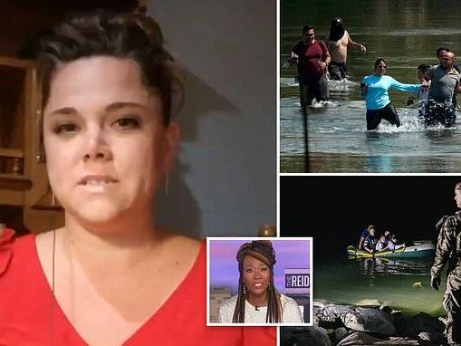 Texas mom won't let her kids play outside amid border crisis, Joy Reid calls problem 'nonexistent'
