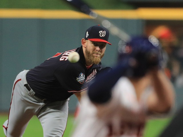Stephen Strasburg has agreed to seven-year, $245M deal to stay with Washington Nationals