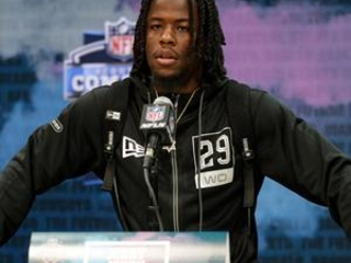 Deep wide receiver class jockeying at NFL scouting combine