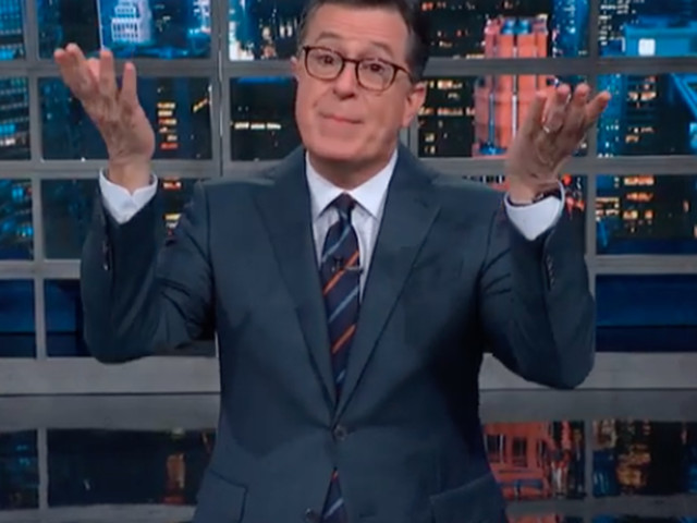 Colbert mocks Republicans' 'desperate' new impeachment defense strategy