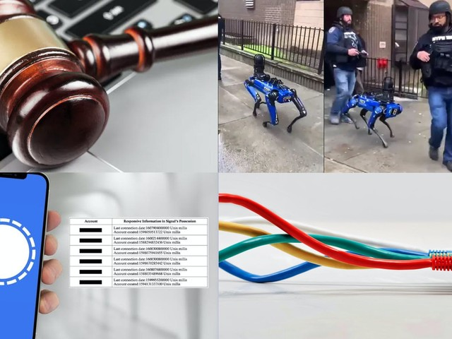 Tech newsletter: NYPD puts down robot dog, providers sue over broadband law