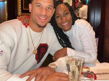 #BLACKLOVE: Go Inside NBA Baller Josh Hart & Shannon Hart's Nuptials As They Jet Off On Their 'Babymoon'
