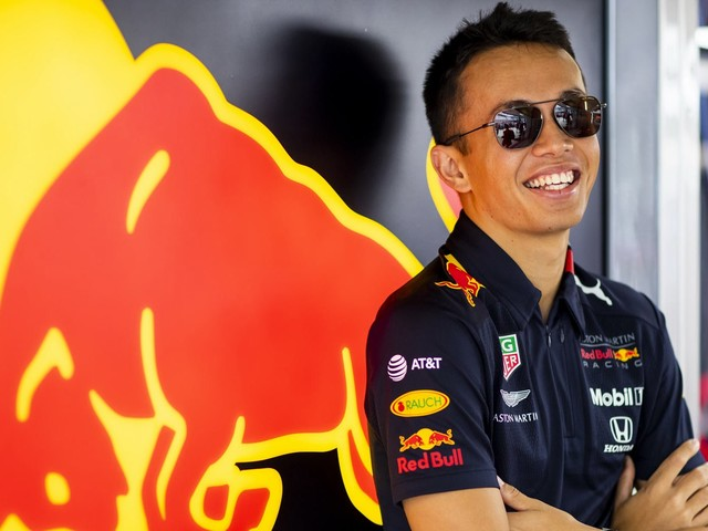 Alex Albon Retains His Seat In Red Bull Racing For 2020
