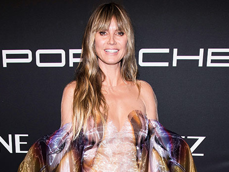 Heidi Klum Poses In Nothing But A Pair Of Hip-Hugging Jeans & Heels on Instagram