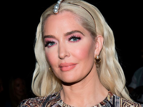 'RHOBH' Star Erika Jayne Claps Back At Critic & Defends LAPD Cop Son On Blackout Tuesday