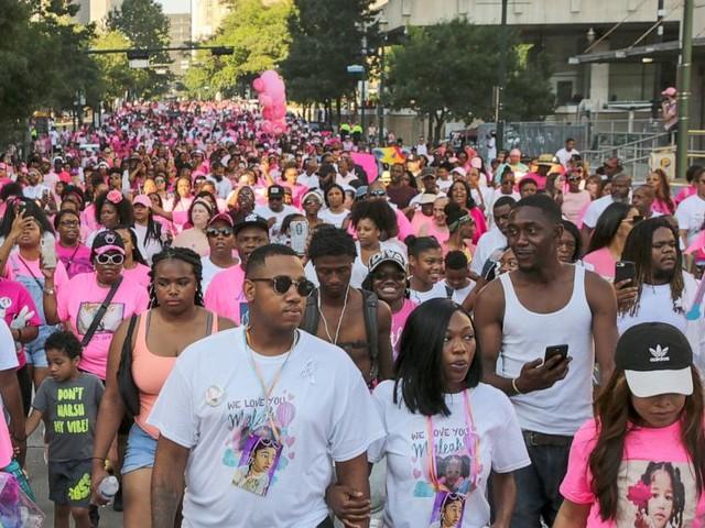 Hundreds march to honor memory of Texas girl Maleah Davis