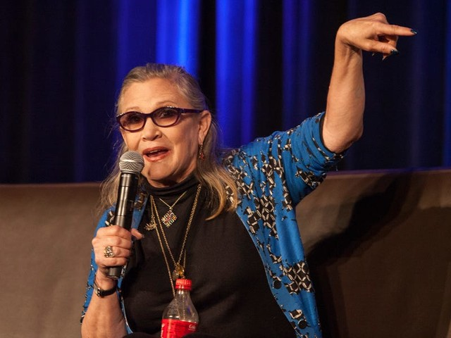 Brother of the late 'Star Wars' actress Carrie Fisher unearthed a note she wrote about death 'long ago'