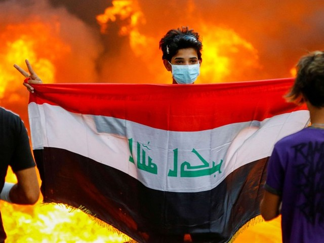 A Month of Anti-government Protests in Iraq