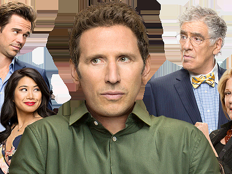 'We Were Really In This Family Sandwich': Mark Feuerstein Talks Inspiration For '9JKL'