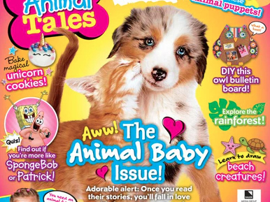 Animal Tales Magazine Subscription Over 50% Off {Rare!!}