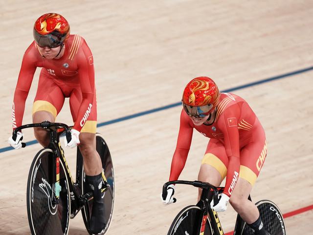 China's Bao, Zhong win Olympic women's team sprint gold