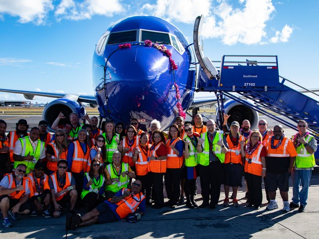 Tickets on sale now for new Southwest Airlines Hawaii flights beginning March 17