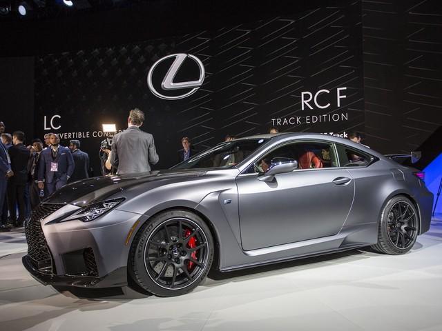 2020 Lexus RC F Track Edition Unveiled