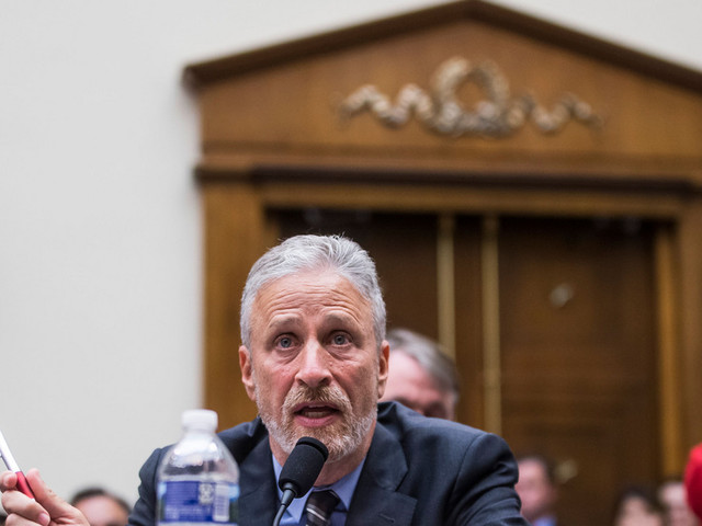 Jon Stewart Yelled at Members of Congress for Ignoring 9/11 First Responders