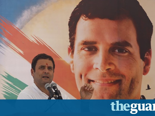 Rahul Gandhi elected leader of India's Congress party