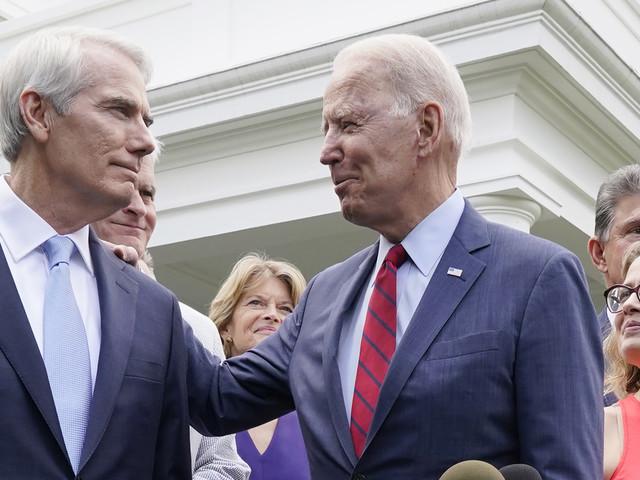 Senator: Bipartisan infrastructure bill loses IRS provision
