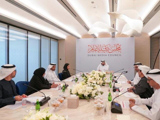 Sheikh Ahmed chairs Dubai Media Council's first meeting
