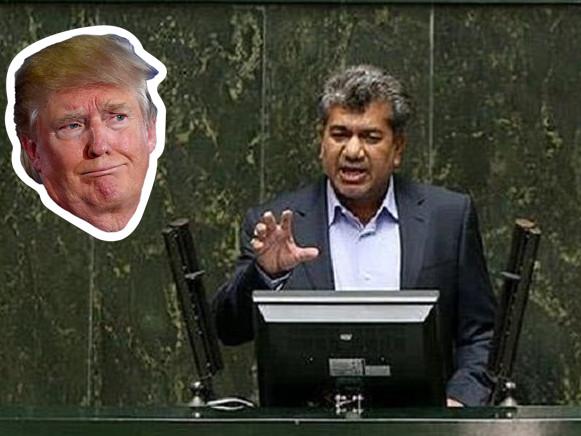 Iranian MP Announces $3 Million Bounty For President Trump's Head