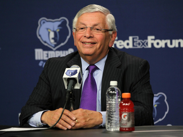 MLK Day game spotlights David Stern and NBA's commitment to Grizzlies and Memphis