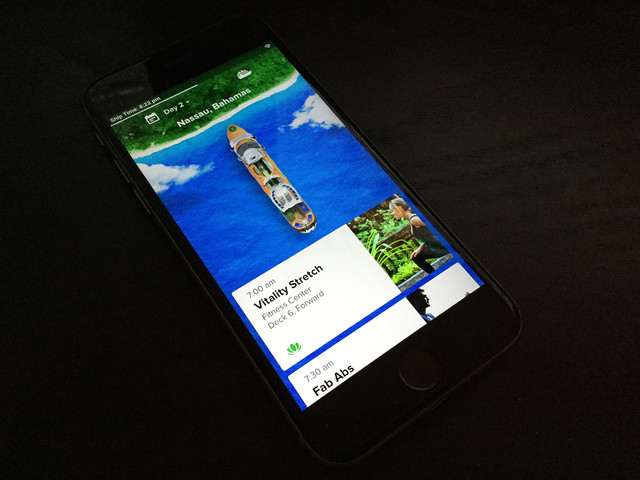New Royal Caribbean smartphone app spotted for use on Allure of the Seas
