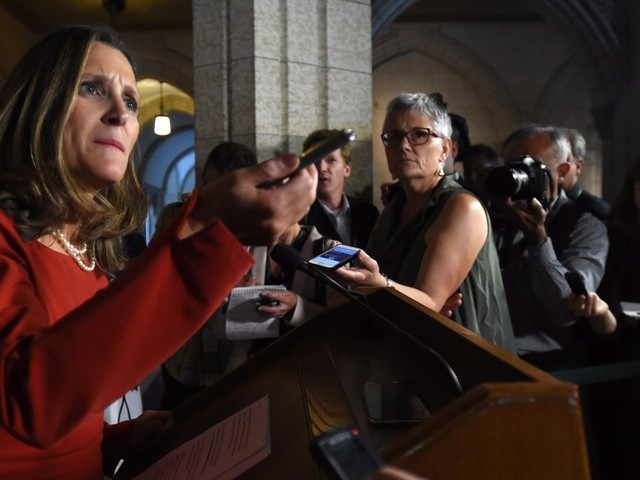 Canada NAFTA Negotiations: Feds To Seek Chapter On Gender Rights In New Deal