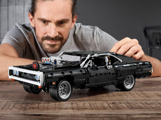 Dominic Toretto's 1970 Dodge Charger from the Fast and Furious is now a Lego kit