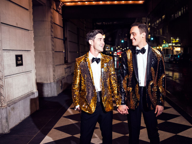Wedding album: Real Wedding-Day Looks From Our Couples