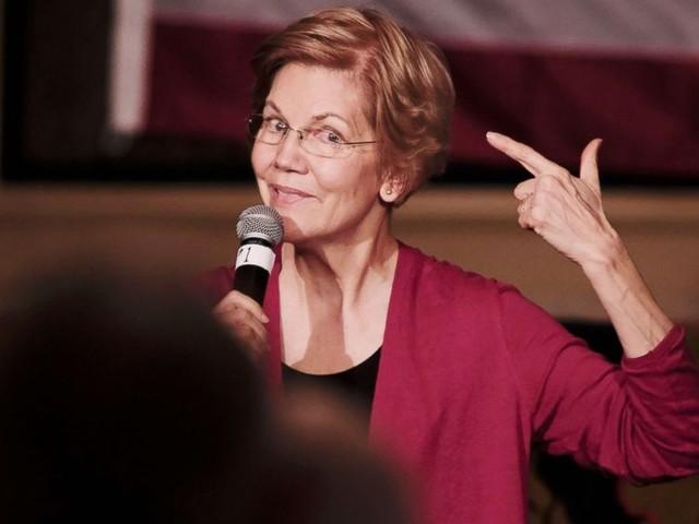 Elizabeth Warren talks Trump in Iowa: 'I can't stop him from hurling racial insults'