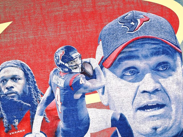 How to Turn the Houston Texans Into Super Bowl Contenders in Four Steps