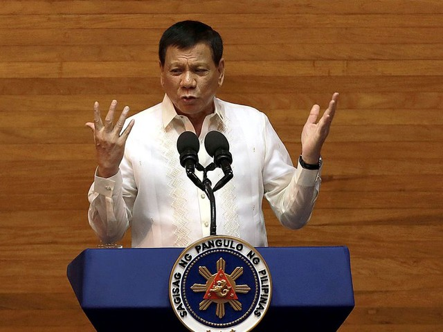 Philippine president admits he used an army of social media trolls while campaigning