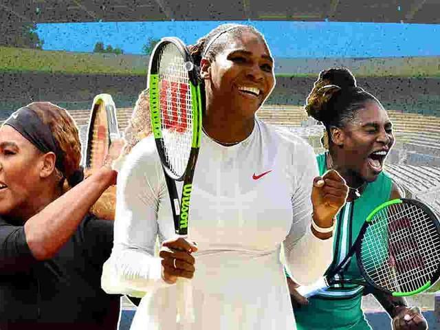 A look at Serena Williams' dominant career