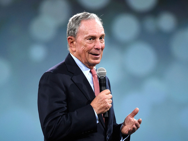 Bloomberg Poll Bump Shows That Money Talks