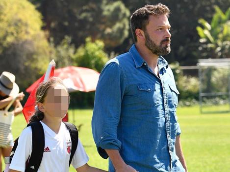 Ben Affleck & Jennifer Garner Unite To Watch 10-Year-Old Daughter Seraphina's Soccer Game — Pics